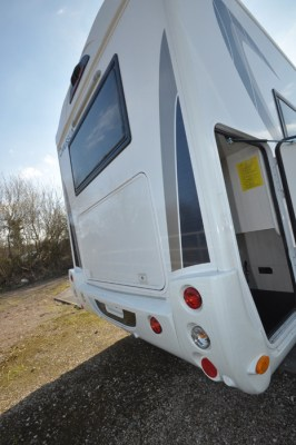 Chausson TravelLine 711 Motorhome Rear Garage