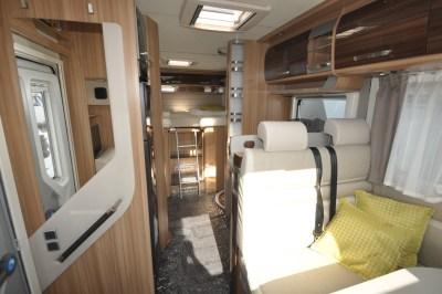 Knaus Sun Ti 700 MEG motorhome interior