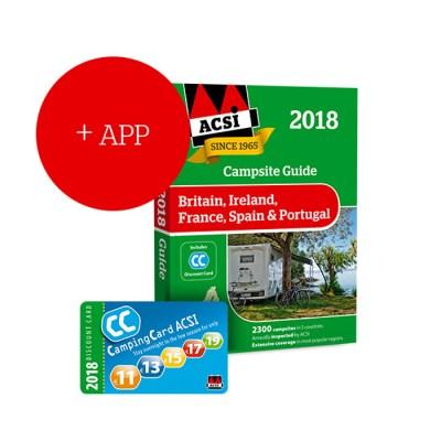 ACSI 2018 Campsite guide and card