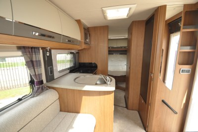 AutoTrail Tracker LB Motorhome Interior looking back