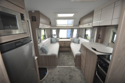 Compass Casita 860 Interior looking forward