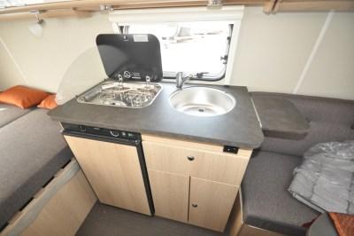 Eriba 310 Edition Kitchen