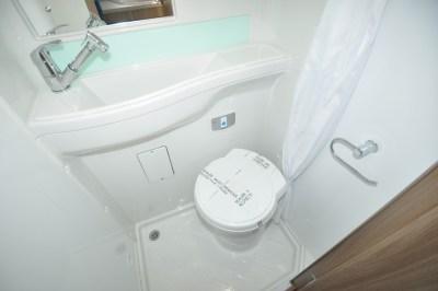 Swift Rio 340 motorhome washroom
