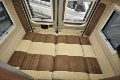 Autohaus Kingston motorhome bed