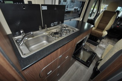 Autohaus Kingston motorhome kitchen