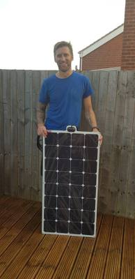 Road Pro solar panel winner