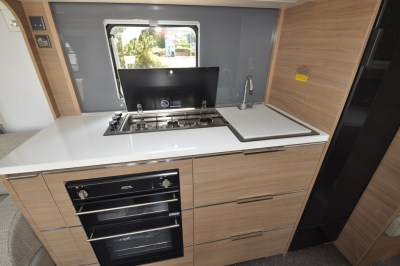 2019 Adria Adora 623 DT Sava caravan kitchen