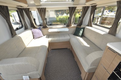 2019 Adria Adora 623 DT Sava caravan lounge