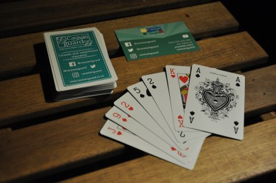 Caravan Guard playing cards