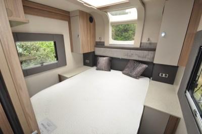 Swift Kon Tiki 650 bed wide
