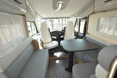 Roller Team Pegaso 590 motorhome interior