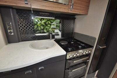 Swift Eccles 480 caravan kitchen