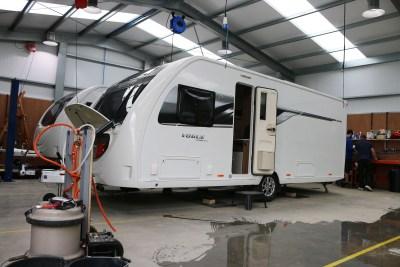 Caravan repairs and caravan servicing
