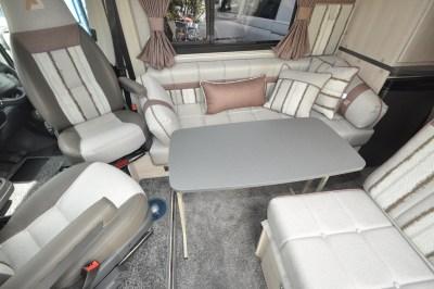 2019 Auto-sleeper symbol plus seating