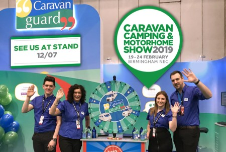 See Caravan Guard at the Caravan, Camping and Motorhome Show 2019