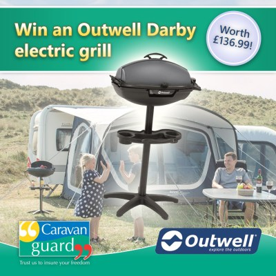 Outwell Darby Grill giveaway