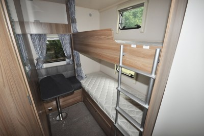 2019 Swift Sprite Super Quattro DB caravan bunk beds