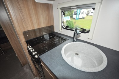 2019 Swift Sprite Super Quattro DB caravan kitchen