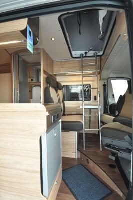 2019 HymerCar Ayers Rock Crossover campervan interior