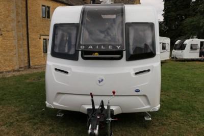 Bailey Phoenix 760 caravan front