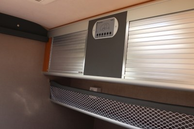 Carette 1500 caravan storage cupboards