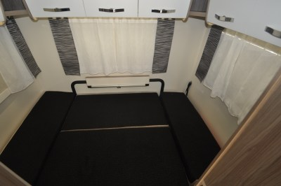 2019 Benimar Primero 283 motorhome lounge/bedroom