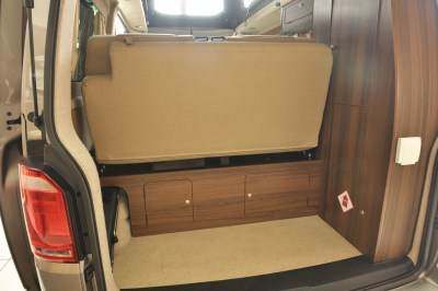 2019 VW Caravaggio campervan fold up bed