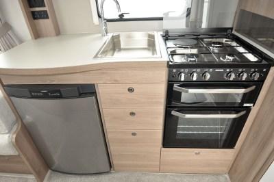 2020 Compass Capiro 520 kitchen