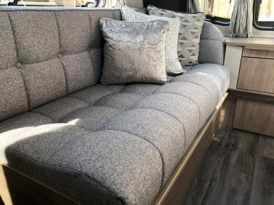 2020 Coachman Laser Xcel 875 caravan seating