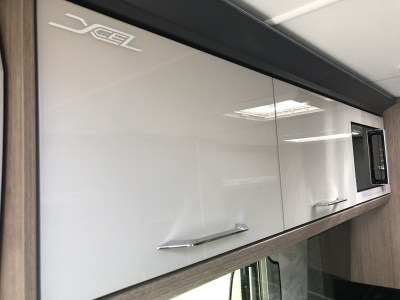 2020 Coachman Laser Xcel 875 caravan overhead lockers