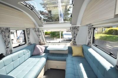 2020 Adria Altea Dart 62 DP caravan interior