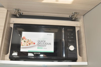 2020 Adria Altea Dart 62 DP caravan microwave