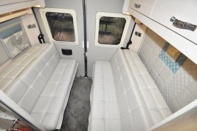 2020 Auto-Sleeper Fairford Plus motorhome seating