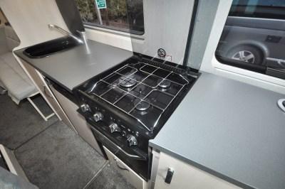 2020 Auto-Sleeper Fairford Plus motorhome kitchen
