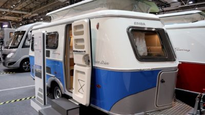 Eriba Troll 530 two berth caravan