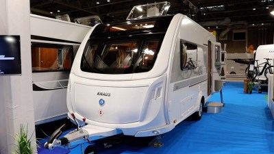 Knaus StarClass 480 two berth caravan