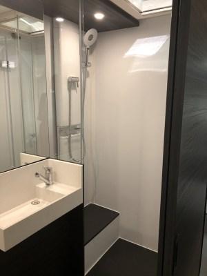 2020 Adria Astella caravan washroom