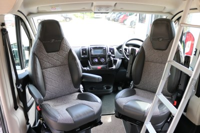 2020 Auto-Trail Adventure 65 campervan cab seats