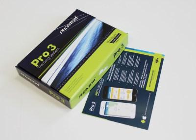 Phantom Pro 3 tracker