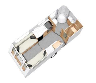 Elddis Affinity 520 floorplan