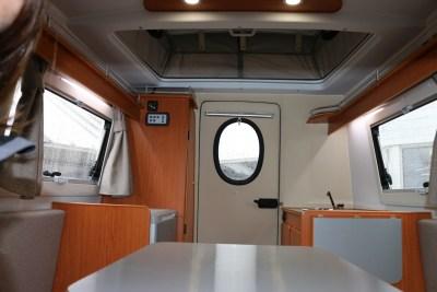 2020 Go-Pod Platinum micro-tourer interior
