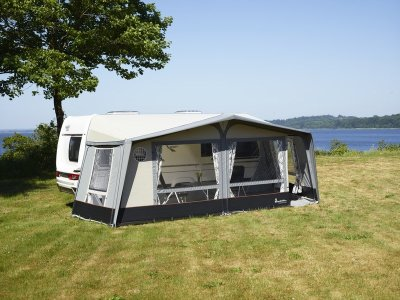 Isabella Ambassador Dawn seasonal pitch awning