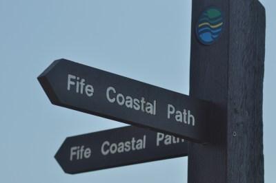 Fife coastal path - lockdown places