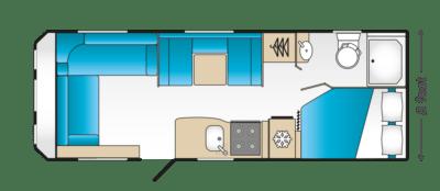 Coachman Acadia 860 floorplan