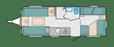 Swift Sprite Major 6TD floorplan