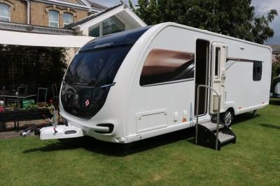 2020 Swift Elegance Grande 850 caravan