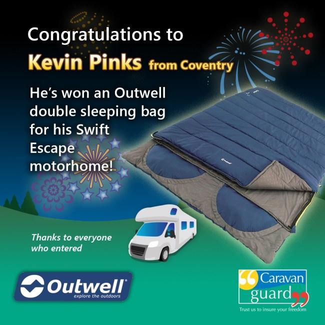sleeping bag winner