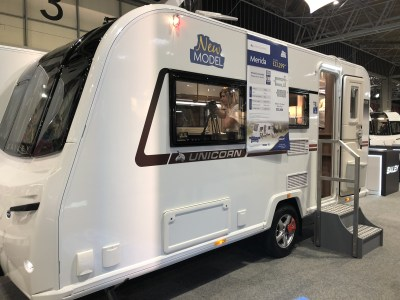2020 Bailey Unicorn Black Edition Merida caravan