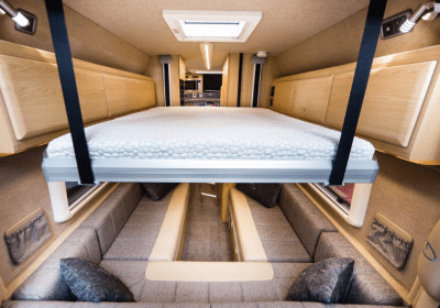 Vantage Sky drop down bed