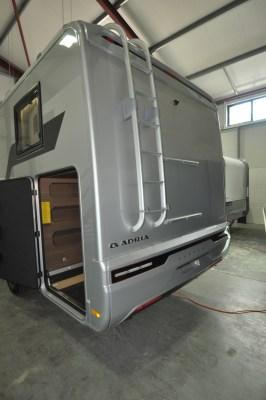 2021 Adria Matrix Supreme 670SL garage